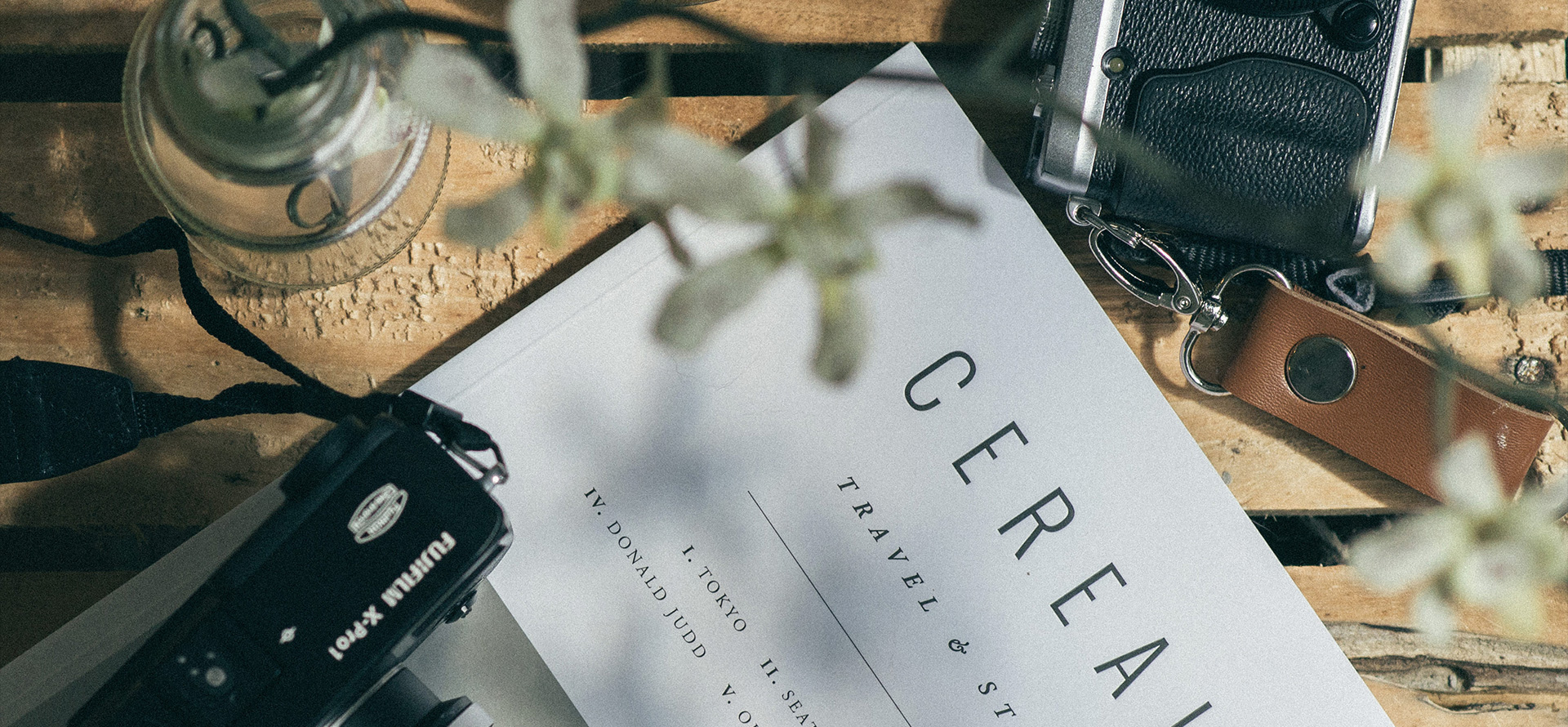 A book on a table